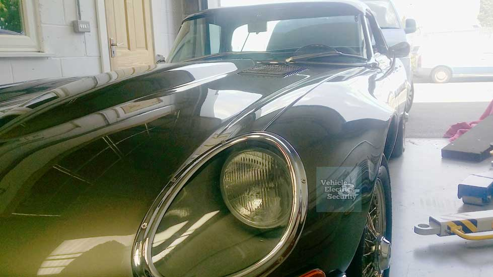 Jaguar E-Type - Classic vehicle repair